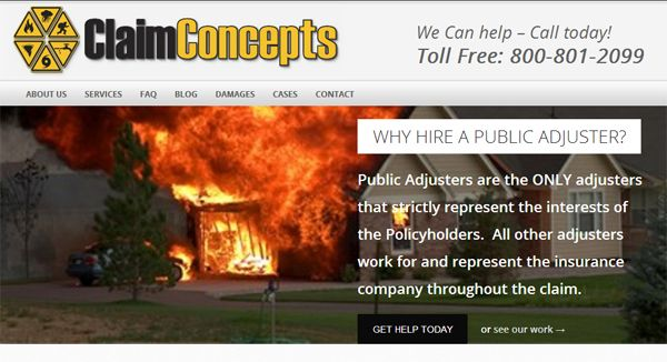 claim concepts claims adjuster