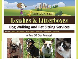 leashes and litter boxes atlanta